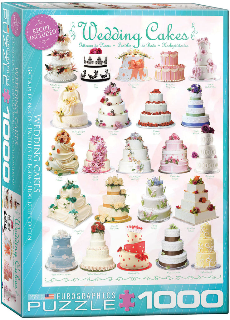 EuroGraphics Puzzles Wedding Cakes