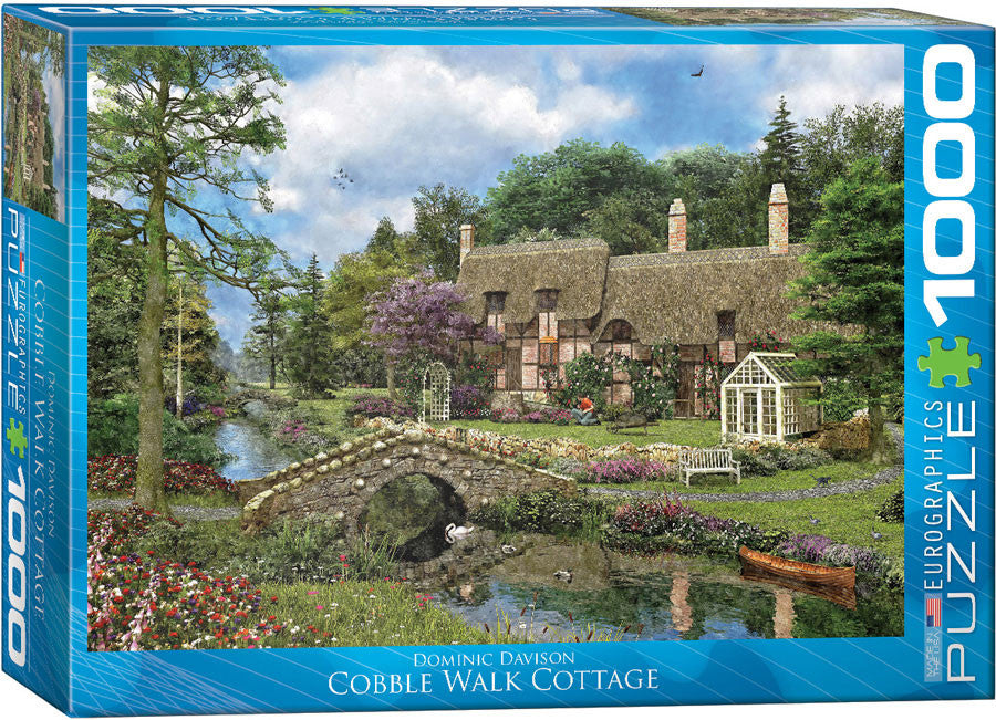 EuroGraphics Puzzles Cobble Walk Cottageby Dominic Davison