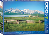 EuroGraphics Puzzles Sawtooth Mountains, ID