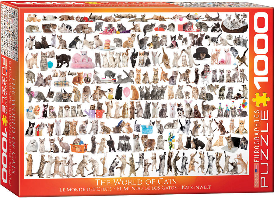 EuroGraphics Puzzles World of Cats
