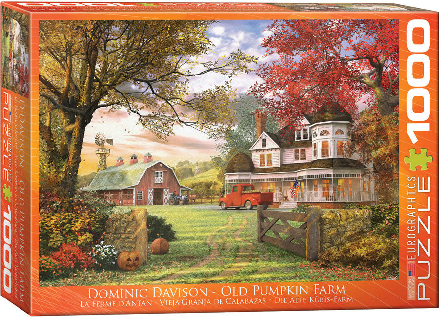 EuroGraphics Puzzles Old Pumpkin Farm by Dominic Davidon