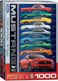 EuroGraphics Puzzles Ford Mustang 50 Years-9 types