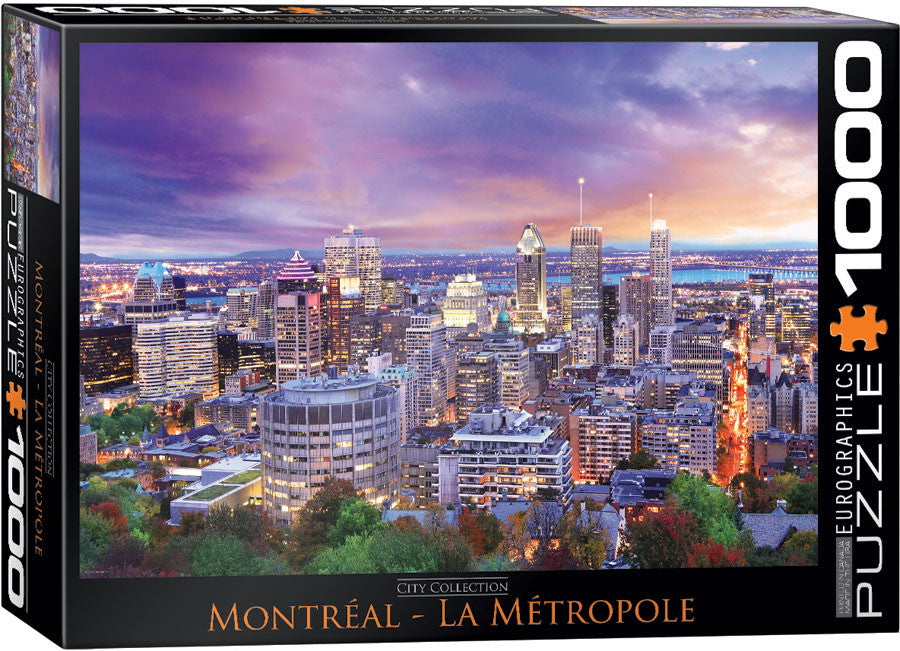 EuroGraphics Puzzles Montreal - Cityscape
