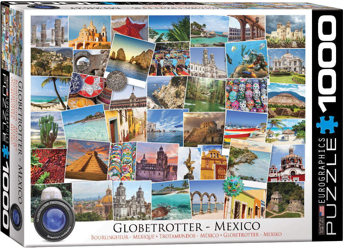 EuroGraphics Puzzles Mexico - Globetrotter
