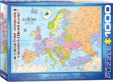 EuroGraphics Puzzles Map of Europe