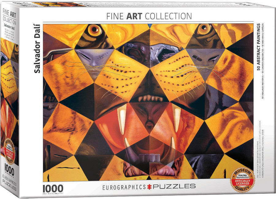 EuroGraphics Puzzles 50 Abstract Paintingsby Salvador Dali