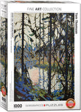 EuroGraphics Puzzles Study for Northern Riverby Tom Thomson