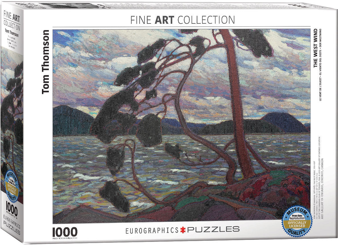 EuroGraphics Puzzles The West Windby Tom Thomson