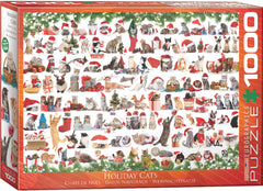 EuroGraphics Puzzles Christmas Kittens