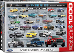 EuroGraphics Ford F-Series Evolution Automotive Evolution Charts 6000-0950