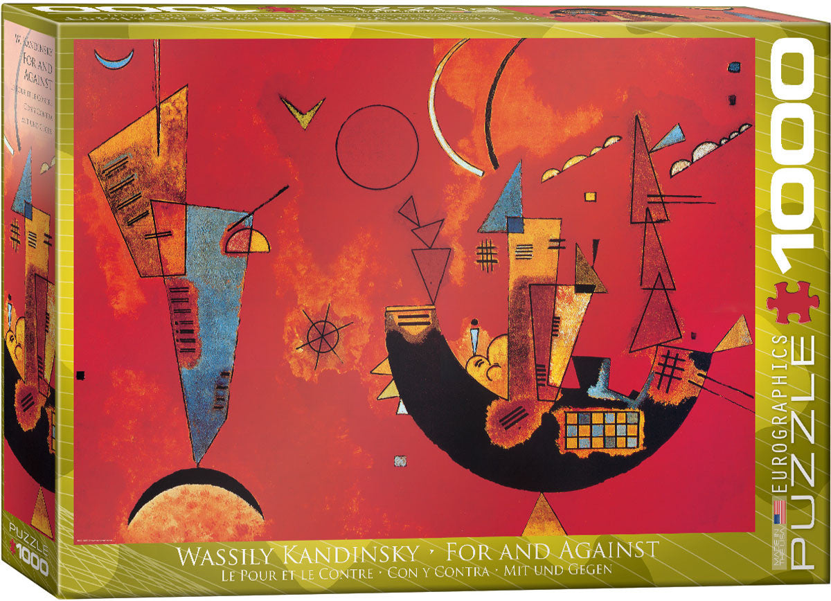 EuroGraphics Puzzles For and Against by Wassily Kandinsky