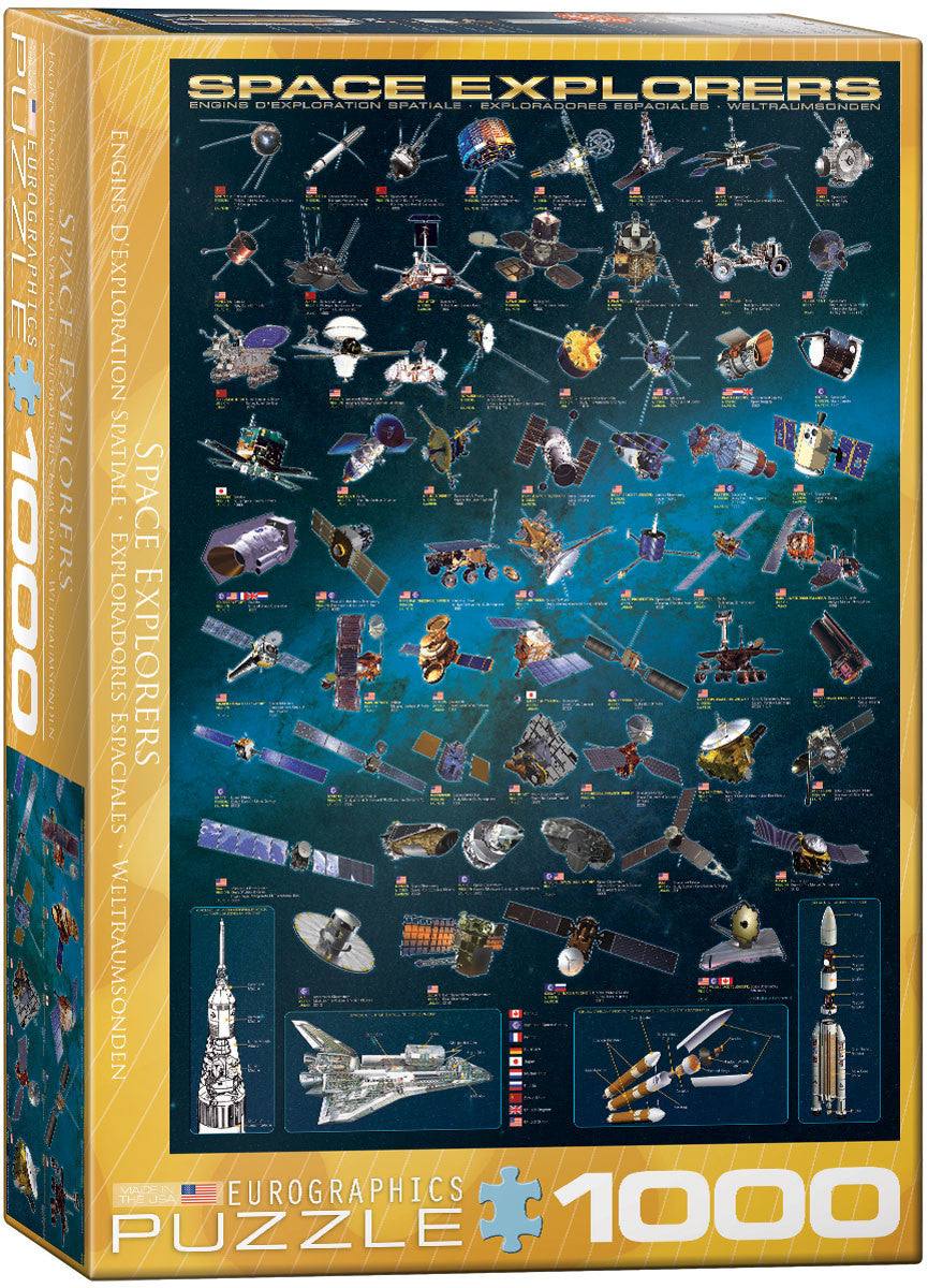 EuroGraphics Puzzles Space Explorers