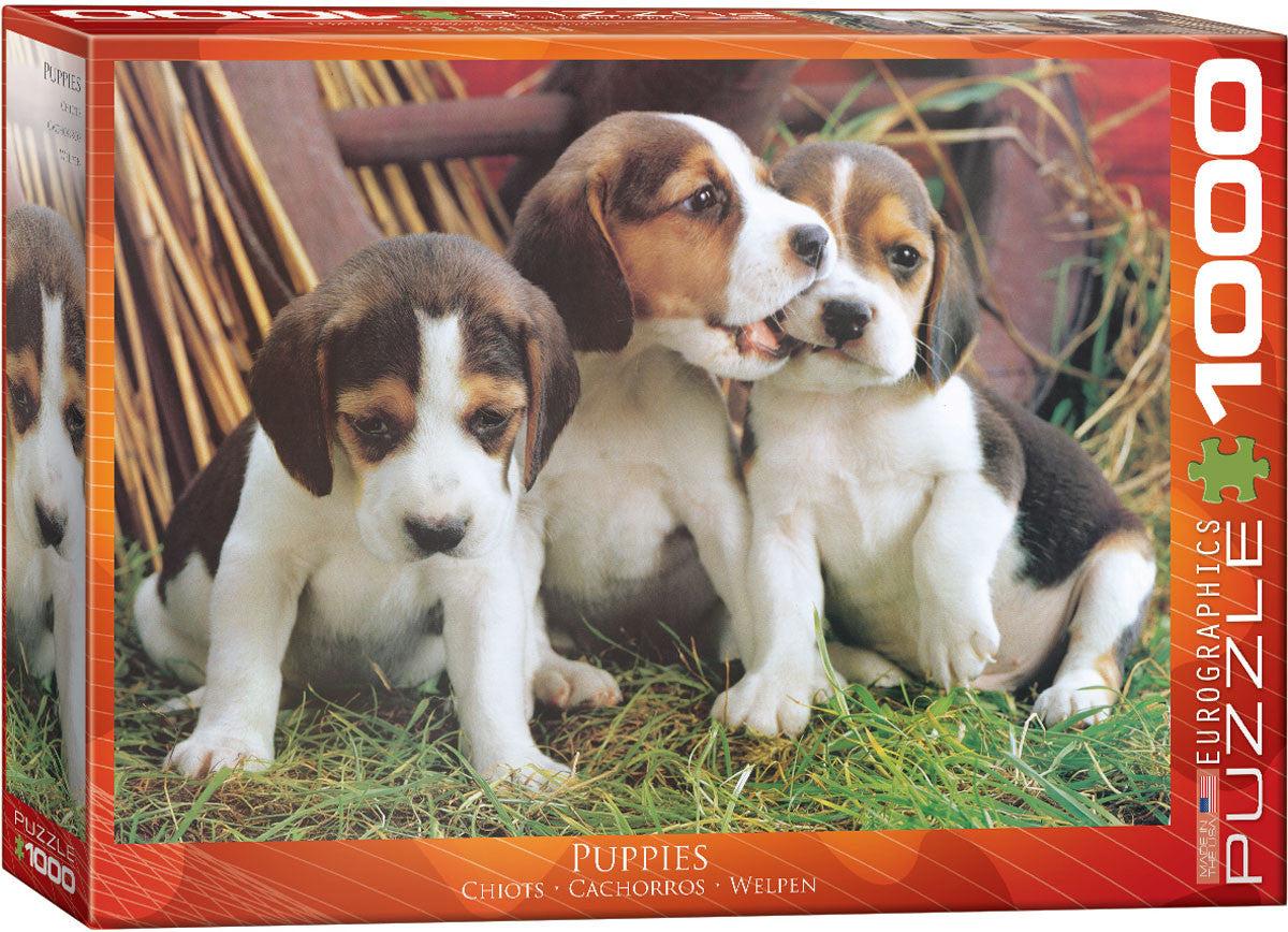 EuroGraphics Puzzles Puppies