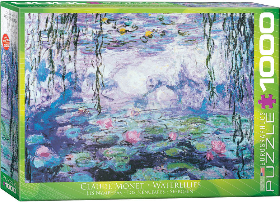 EuroGraphics Puzzles Waterlilies by Claude Monet