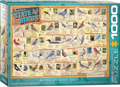 EuroGraphics State Birds Great American Outdoors 6000-5327