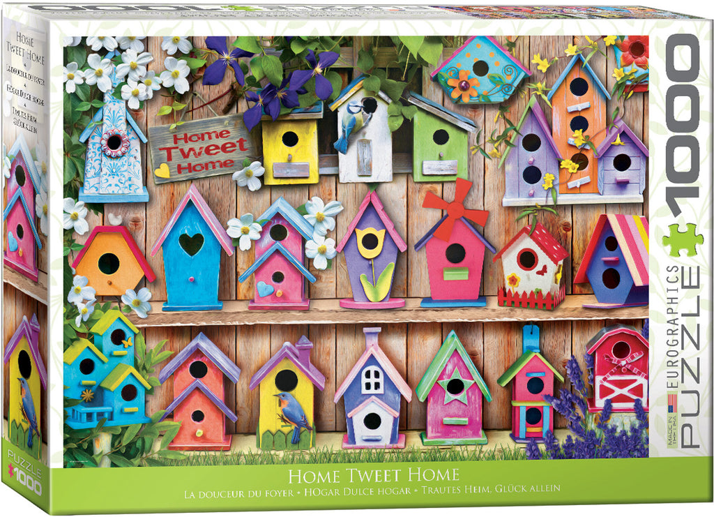 EuroGraphics Home Tweet Home (Birdhouses) Animal Life Photography 6000-5328