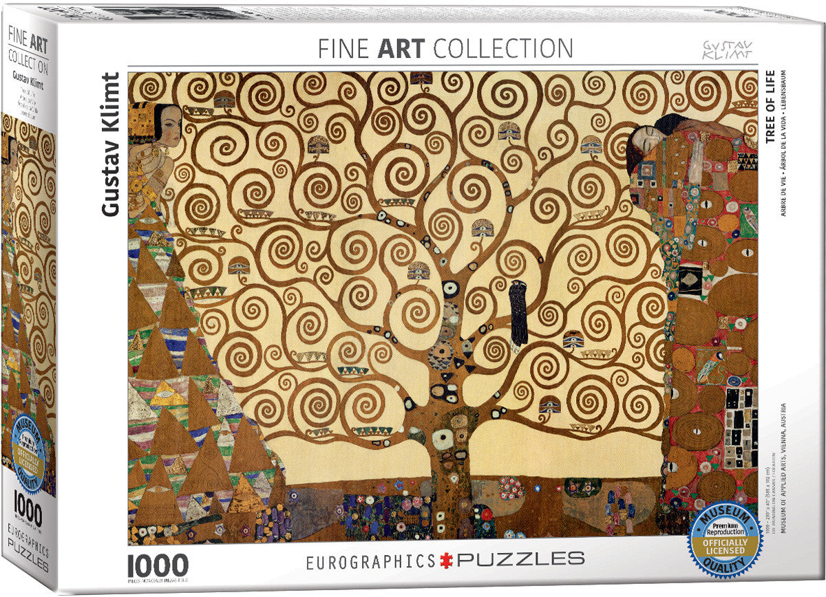 EuroGraphics Puzzles Tree of Life by Gustav Klimt