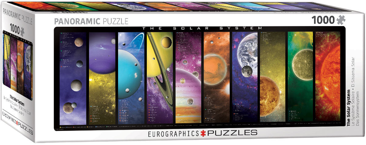 EuroGraphics Puzzles The Solar System (replaces 6005-0308)