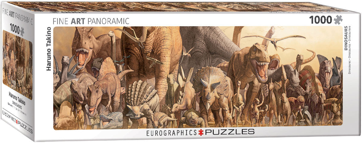 EuroGraphics Puzzles Dinosaurs- Haruo Takino(replaces 6005-4650)