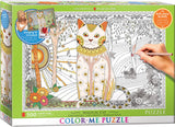 EuroGraphics Puzzles Magic Cat/ Color Me Puzzle - 500pc