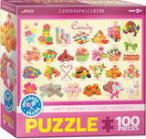EuroGraphics Puzzles Candy - Kids Sweets