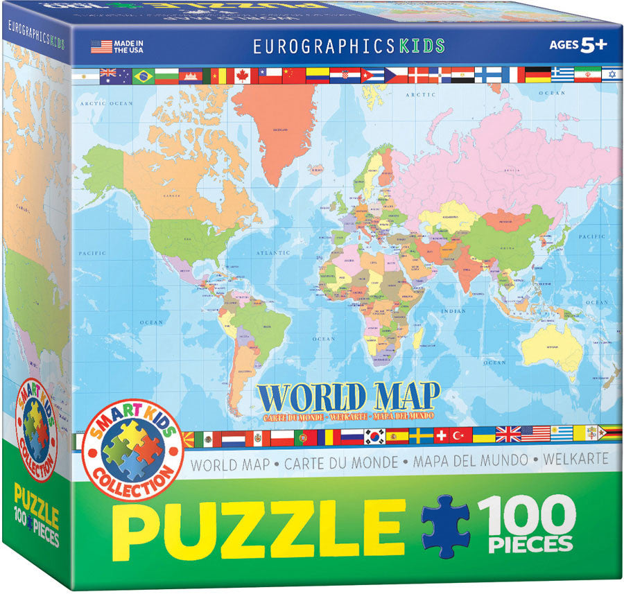 EuroGraphics Puzzles World Map