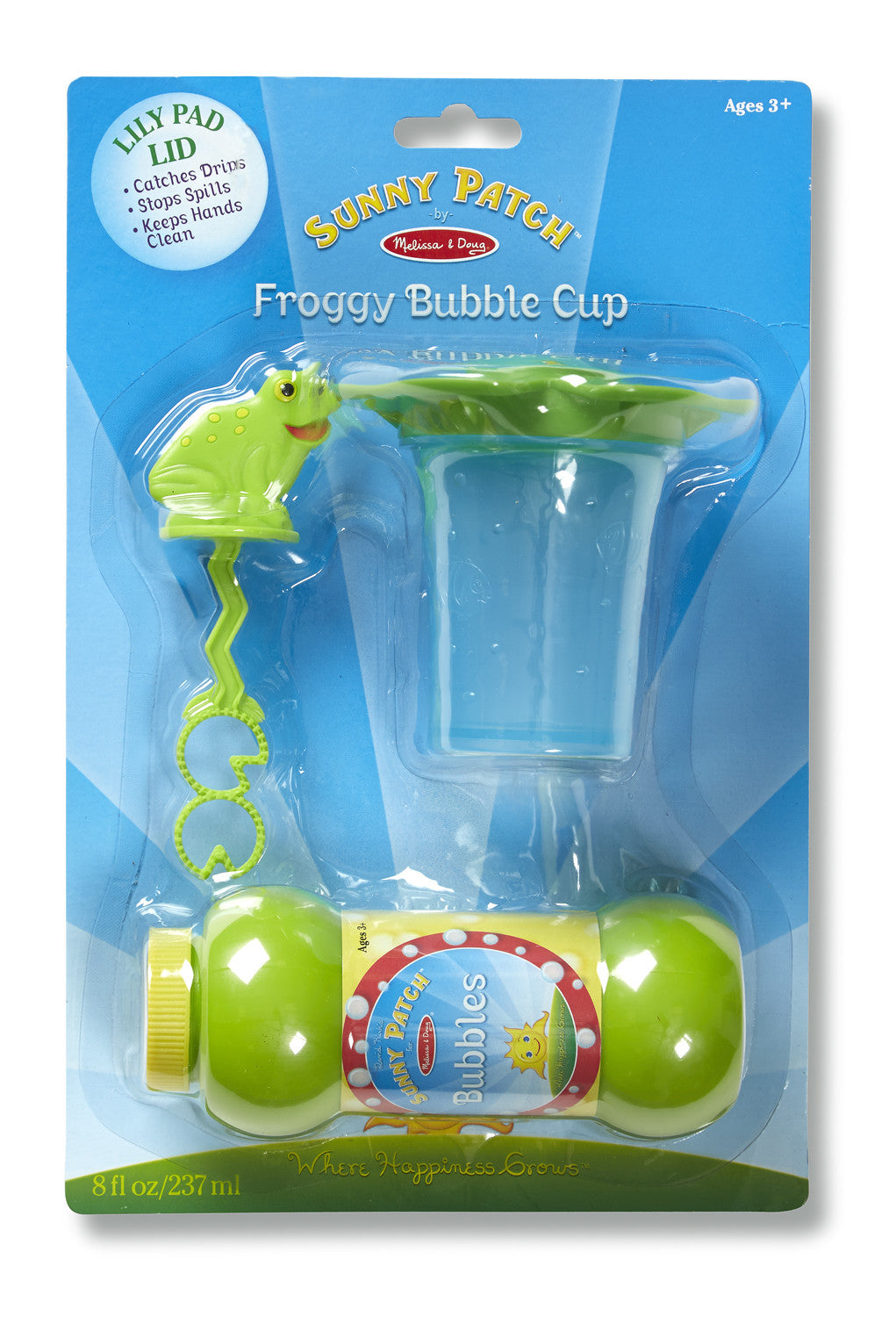 Melissa & Doug Froggy Mini Bubble Cup