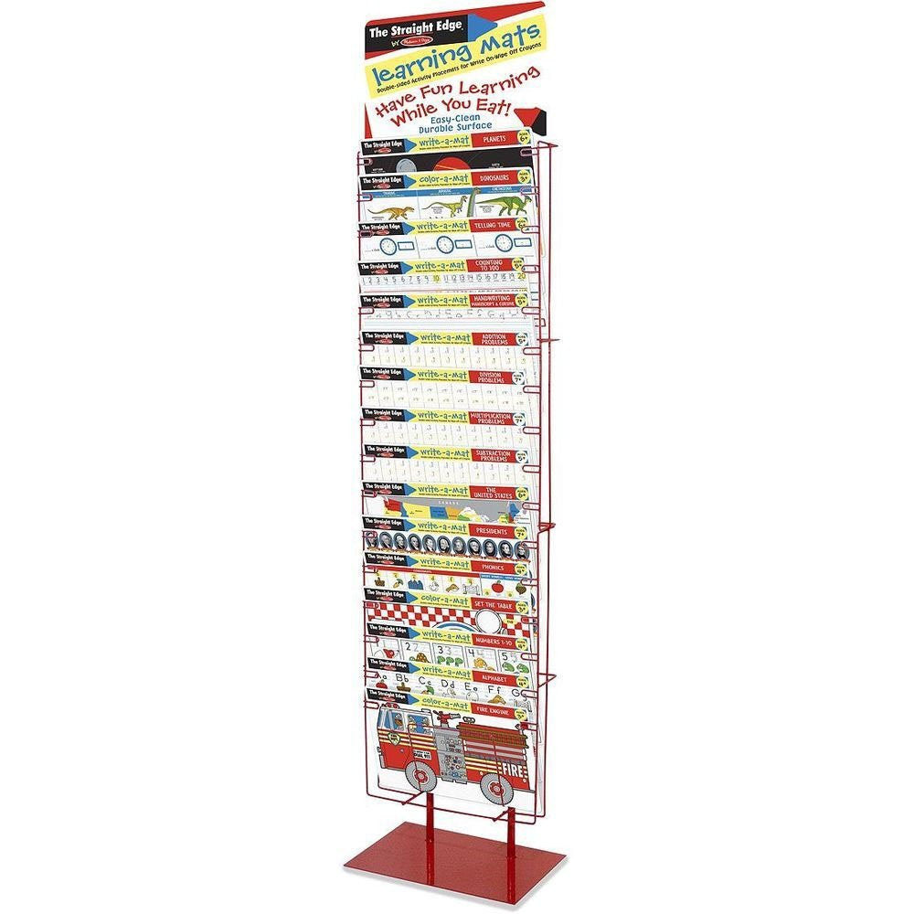 Melissa & Doug The Straight Edge Display Rack