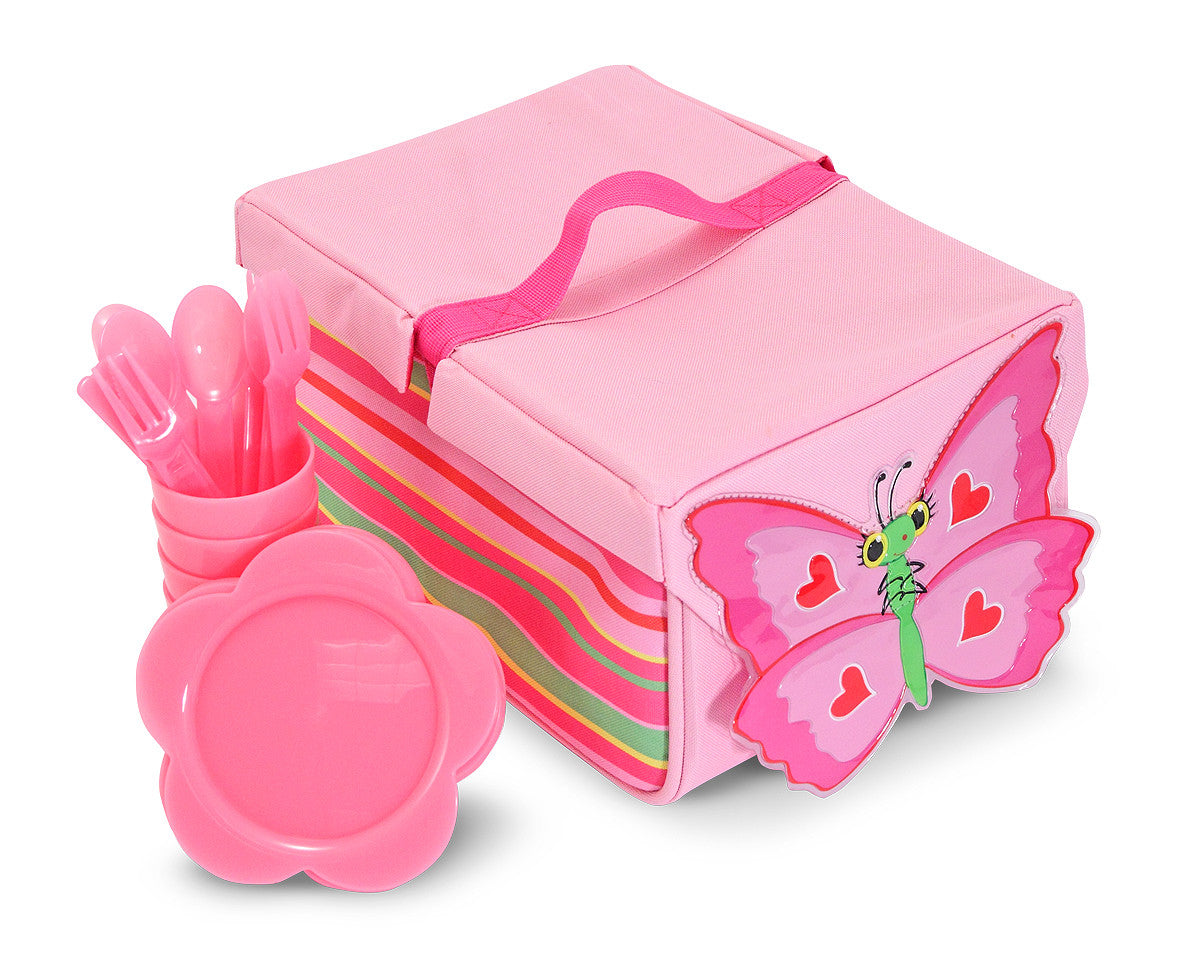 Melissa & Doug Bella Butterfly Picnic Set 6170