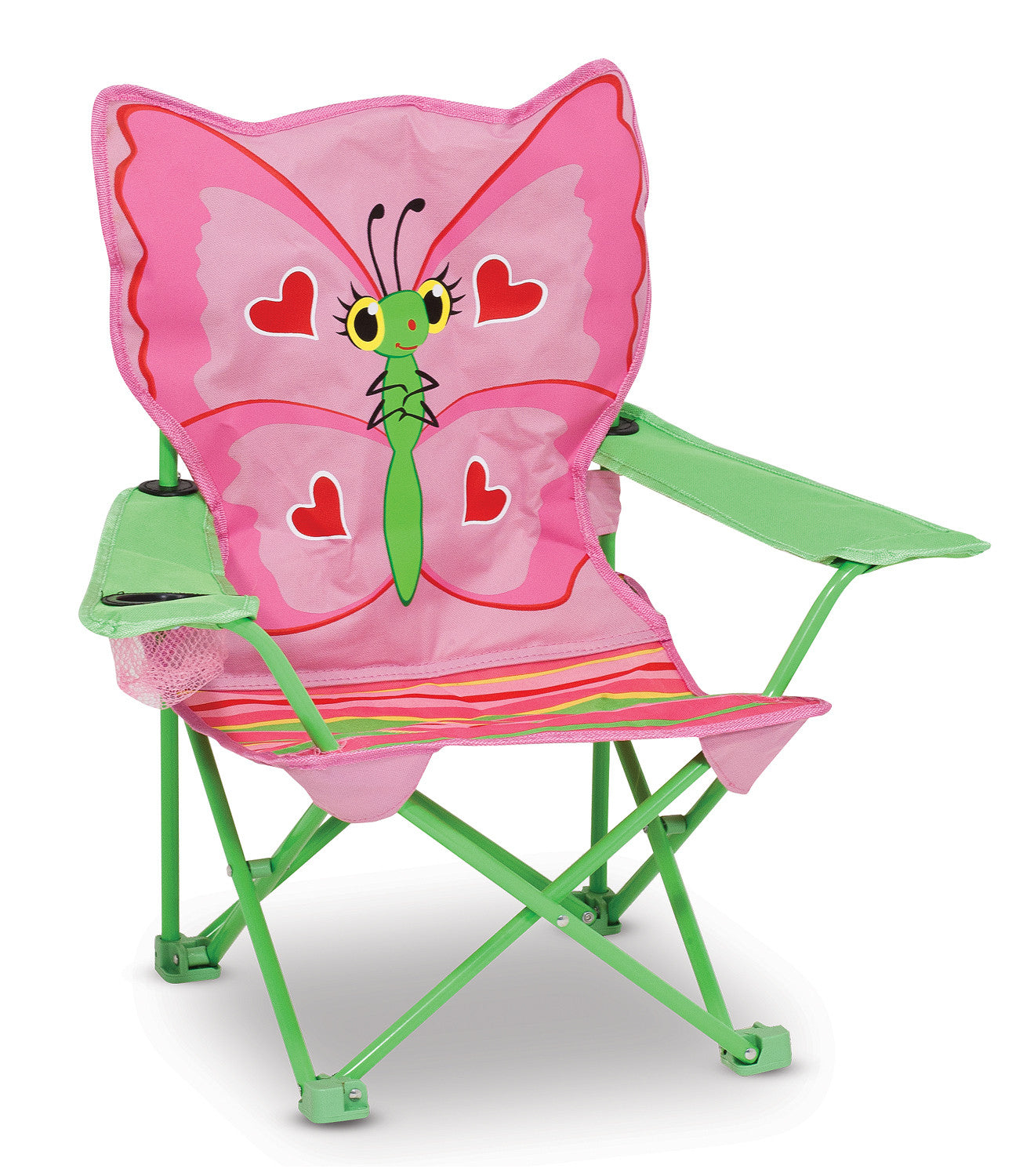 Melissa & Doug Bella Butterfly Child's Outdoor Chair 6173
