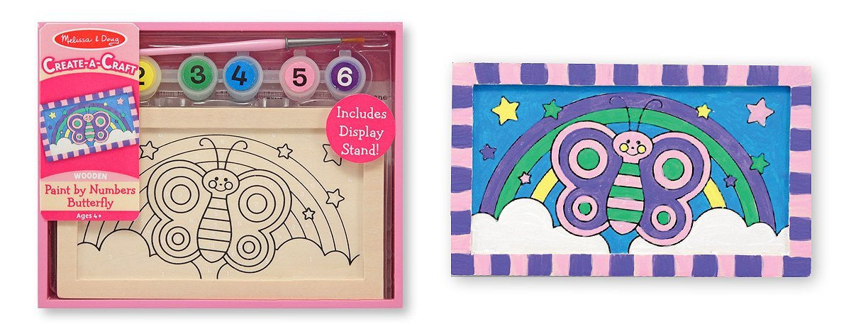 Melissa & Doug Paint By Numbers - Butterfly