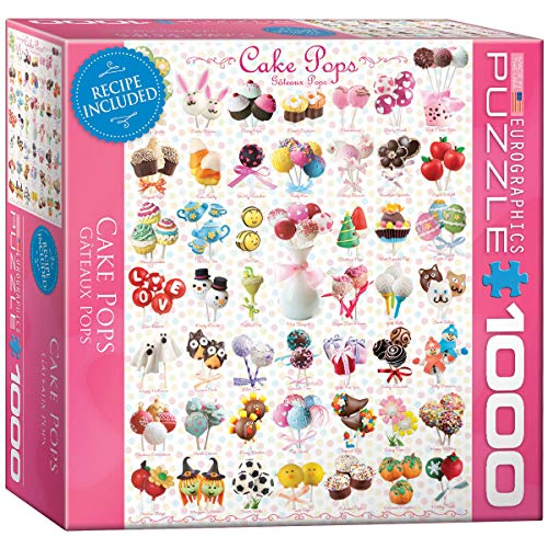 EuroGraphics Cake Pops 1000-Piece Puzzle (Small Box) Puzzle