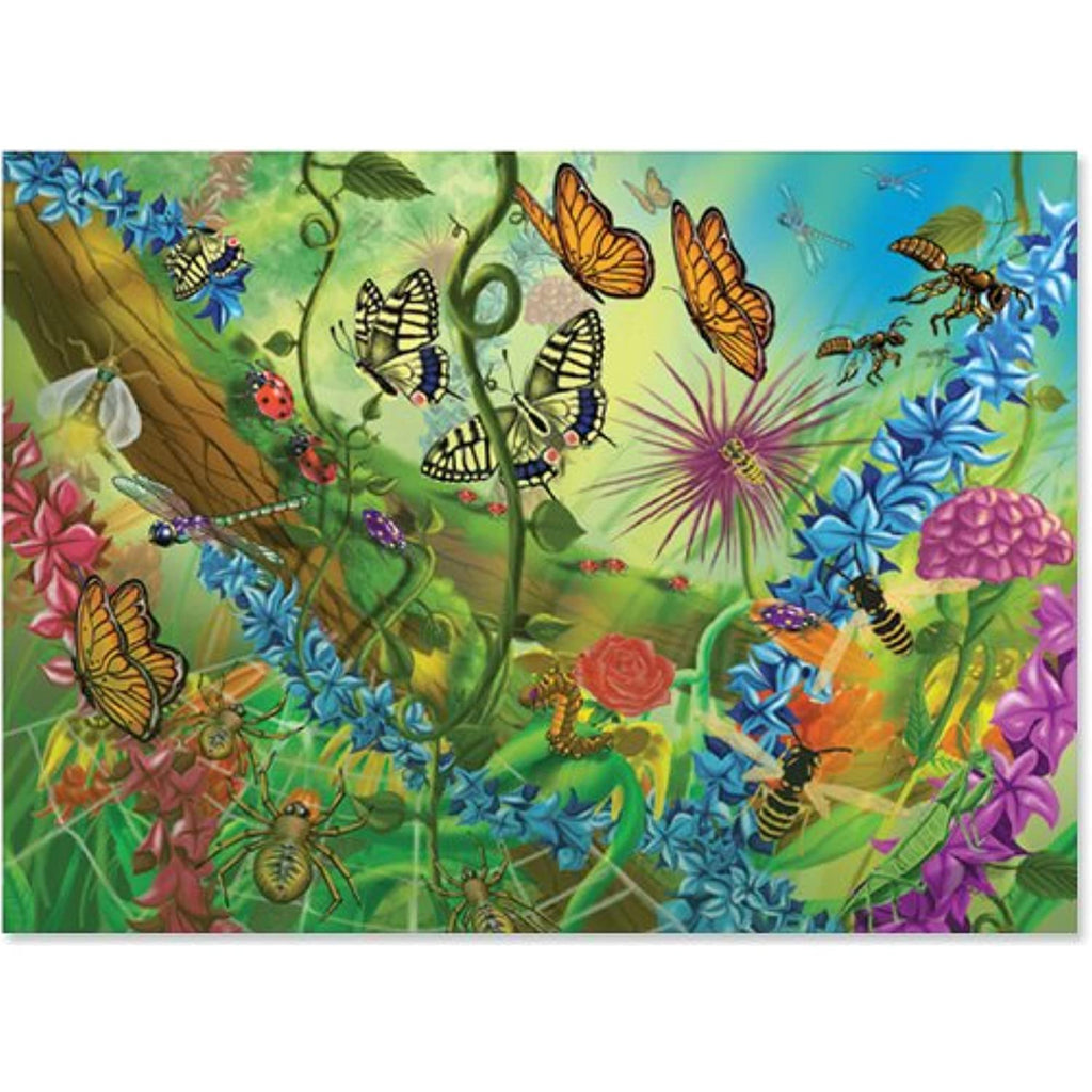0060 pc World of Bugs Cardboard Jigsaw Case Pack 2
