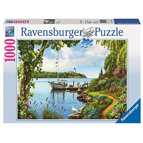 Ravensburger Adult Puzzles 1000 pc Puzzles - Boat Days 19404