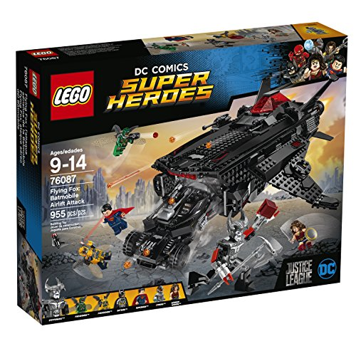 LEGO Super Heroes 76087 Flying Fox Batmobile Airlift Attack 955 Piece