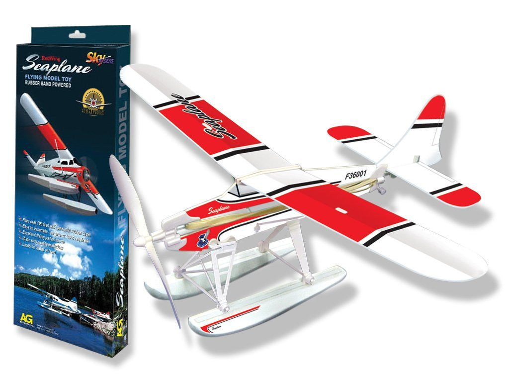 Be Amazing Toys Red Wing Sea Plane 9880
