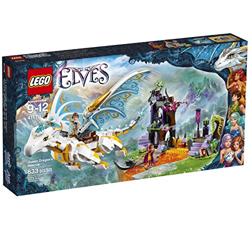 LEGO Elves Queen Dragons Rescue 41179 Creative Play Toy For 9- To 12-Year-Olds