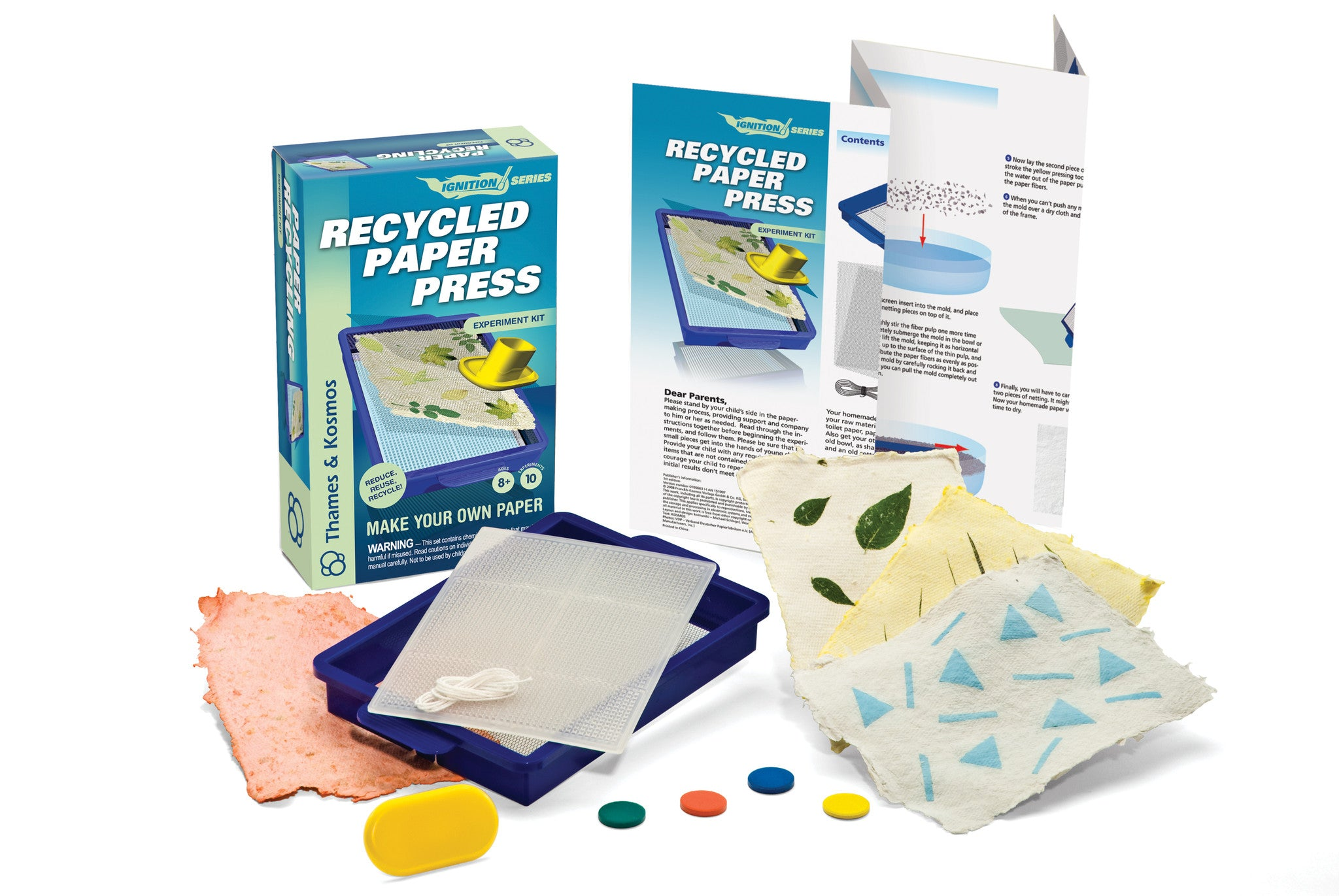 Thames & Kosmos Recycled Paper Press 659066