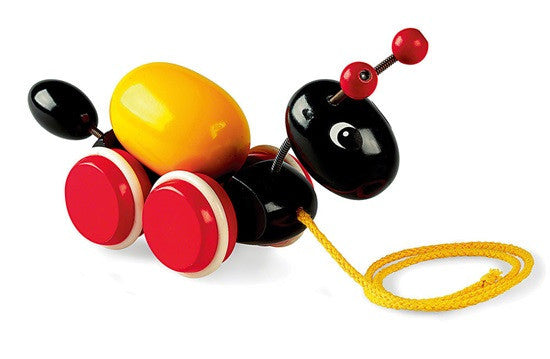 Brio Infant/Toddler - Pull Alongs - Ant with Egg 30367