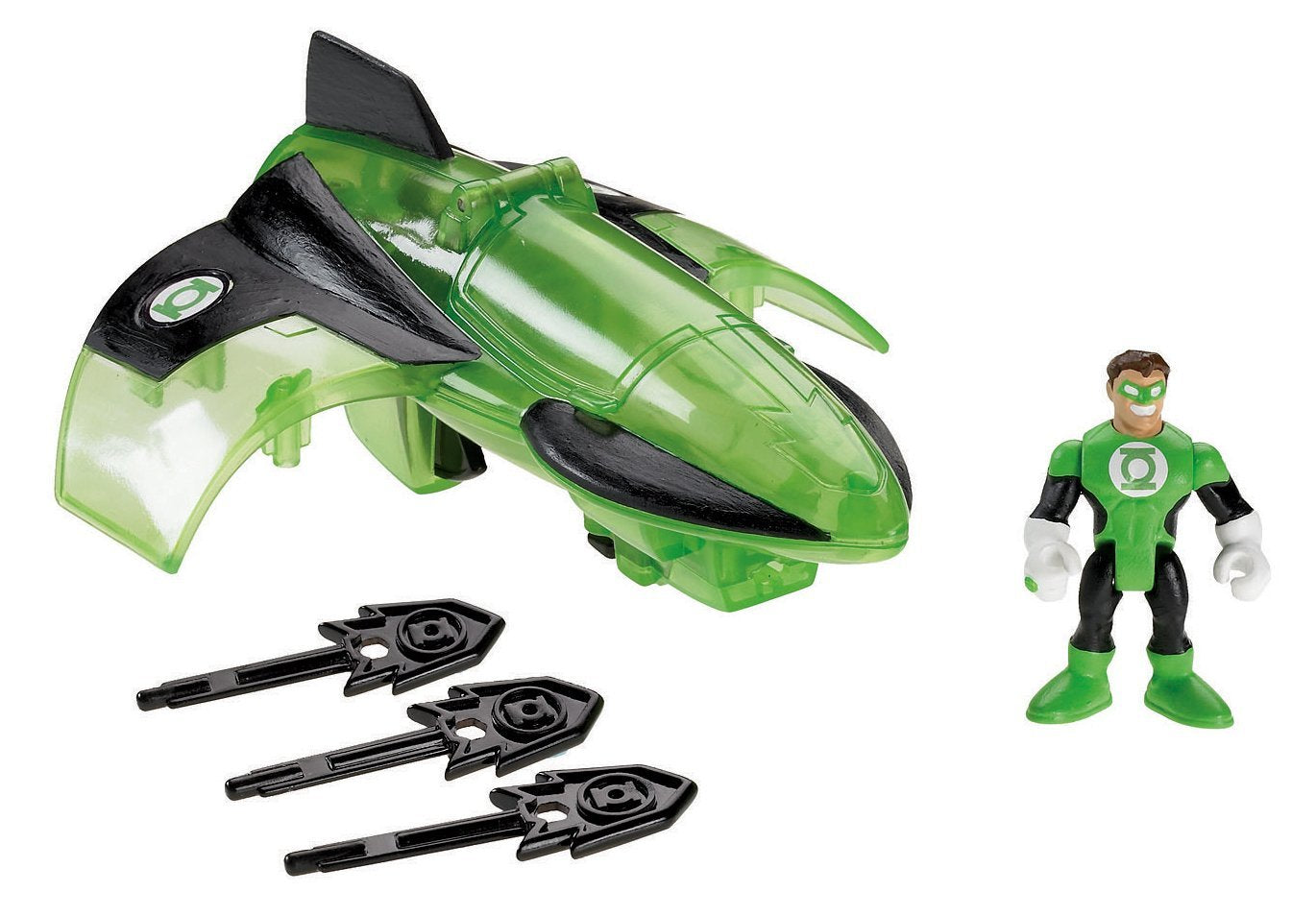 Fisher-Price Imaginext DC Super Friends, Green Lantern Jet R5514