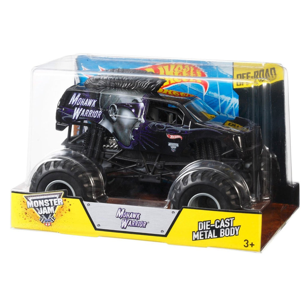 Hot Wheels Monster Jam 1:24 Scale Die Cast Official Monster Truck Series CBY62
