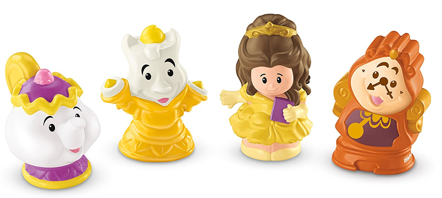 Fisher Price Little People Disney Princess Belle & Friends CDH84