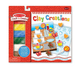 Melissa & Doug Craft & Create Clay Creations