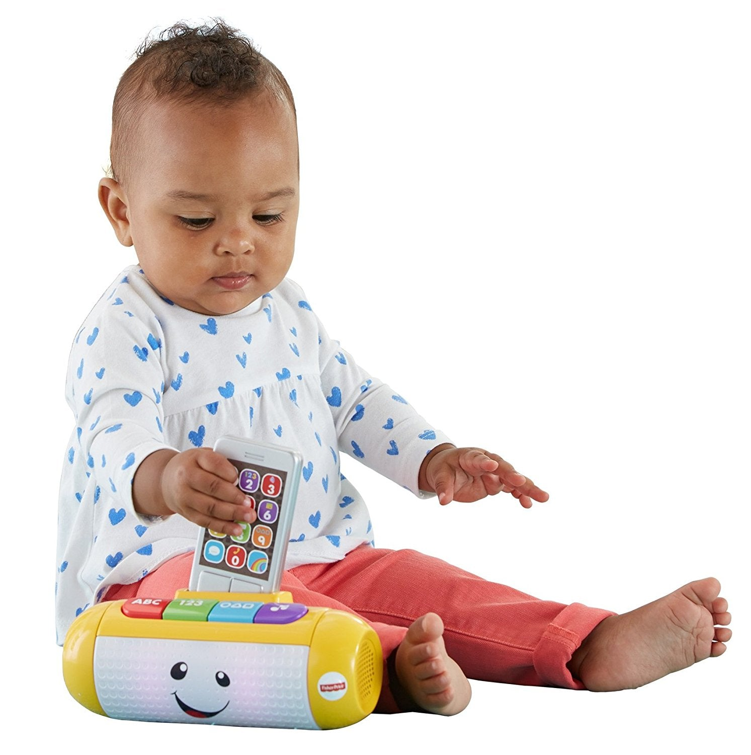 Fisher Price Laugh & Learn Light Up Learning Speaker DHC47