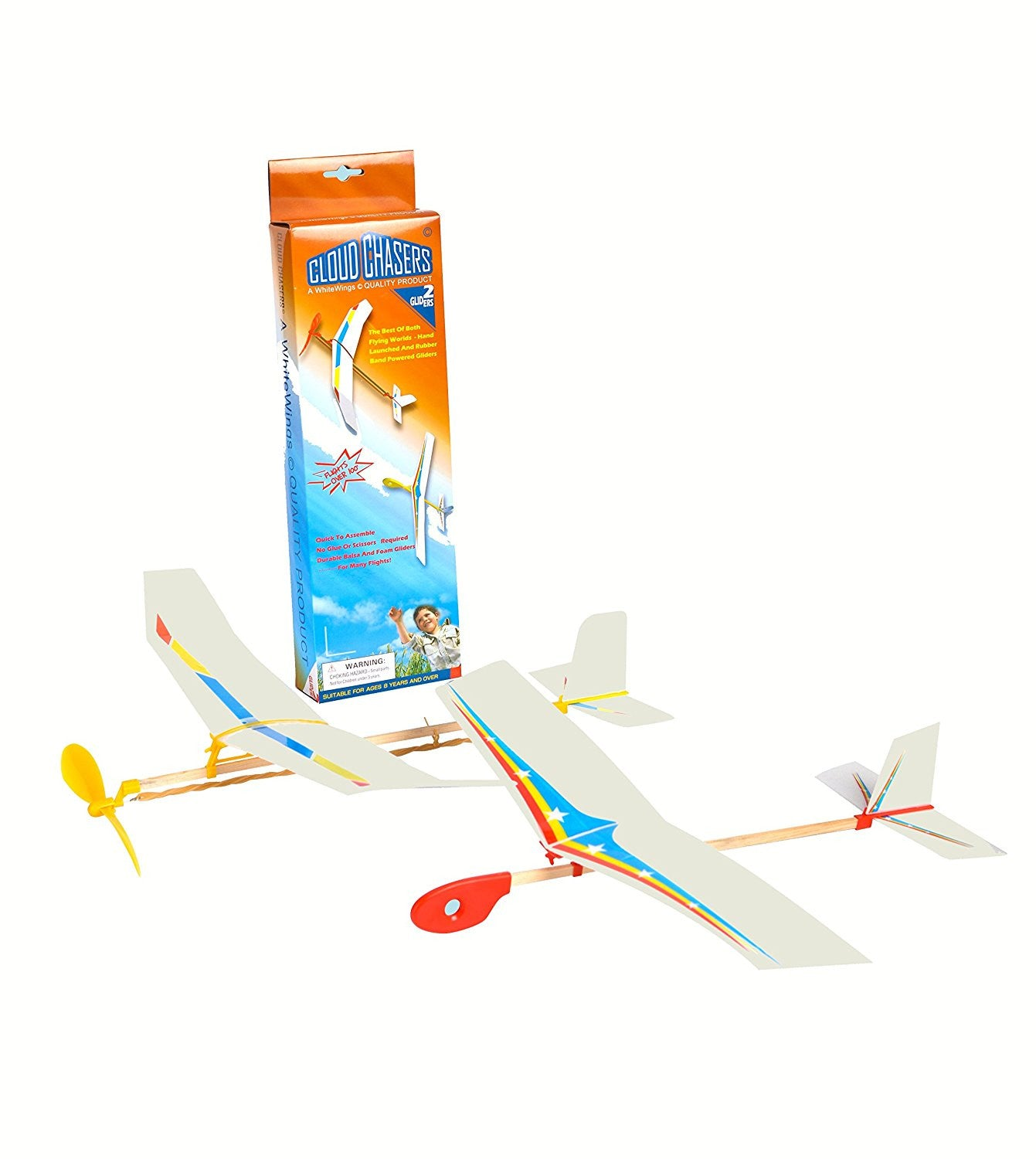 Be Amazing Toys Hand Launched Flying Hawk Glider