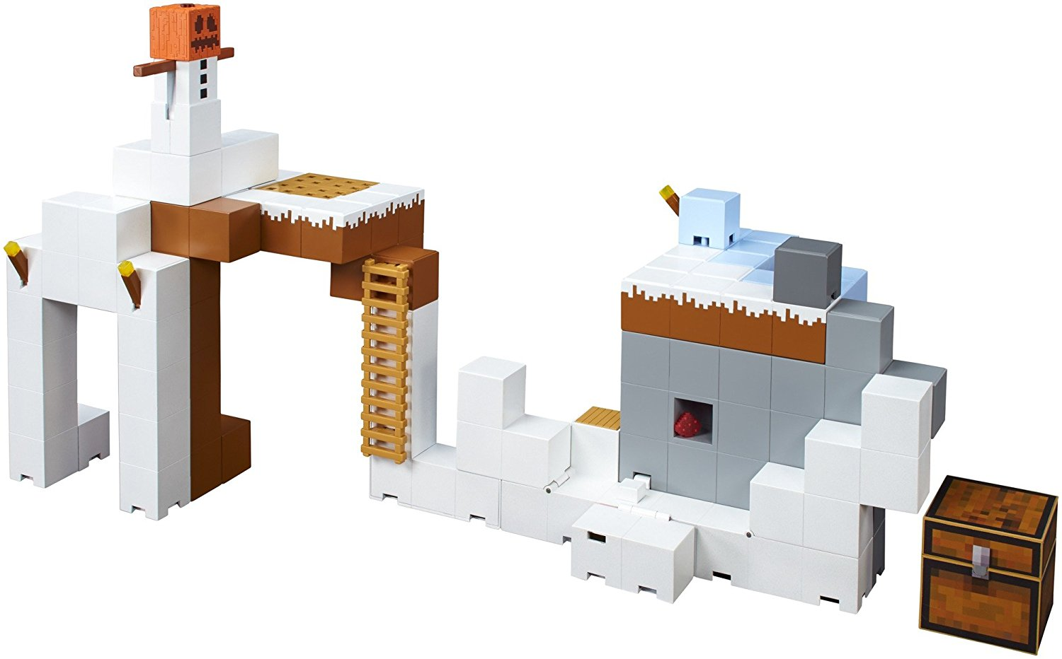 MatteL Minecraft Tundra Tower Expansion Playset FDC43