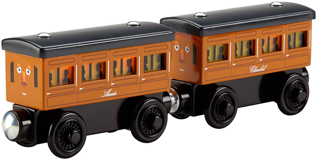 Fisher Price Thomas & Friends™ Wooden Railway Light Up Reveal Annie & Clarabel Multi-pack DFW81