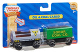 Fisher Price Thomas the Train Wooden Railway Oil and Coal Cargo Y4505