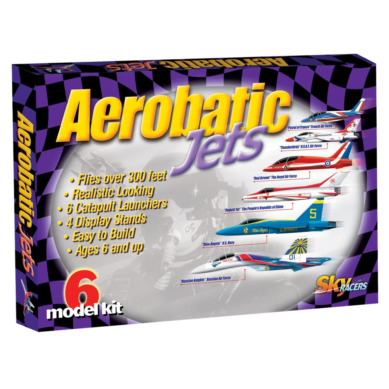 Be Amazing Toys Aerobatic Jets 9300