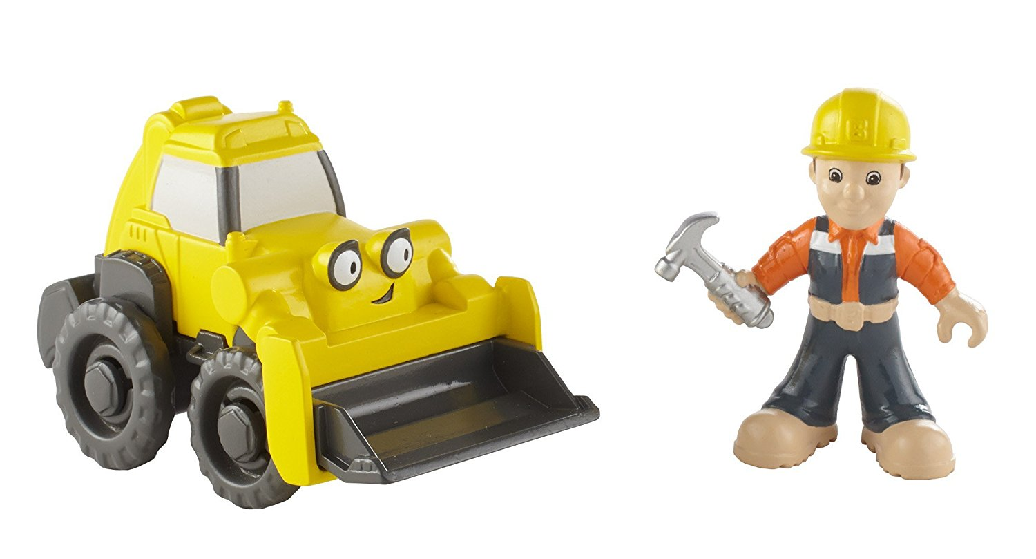 Mattel Fisher-Price Bob the Builder Bob & Scoop DNM05